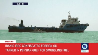 Photo of Iran claims to seize another oil tanker in the Gulf