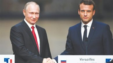 Photo of Putin, Macron to meet for French-Russian talks before G-7
