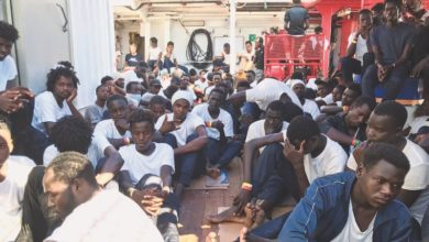 Photo of Six EU nations agree to take 356 African migrants