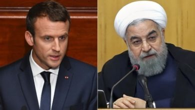 Photo of Iran's Rouhani warns Macron of looming nuclear step