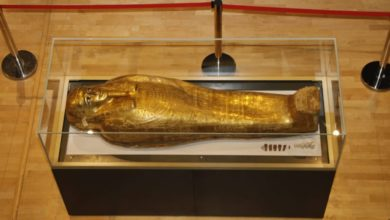 Photo of Egypt retrieves Nedjemankh's golden Coffin from USA