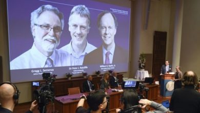 Photo of Two scientists from US, one from Britain get Nobel Medicine prize for learning how cells use oxygen