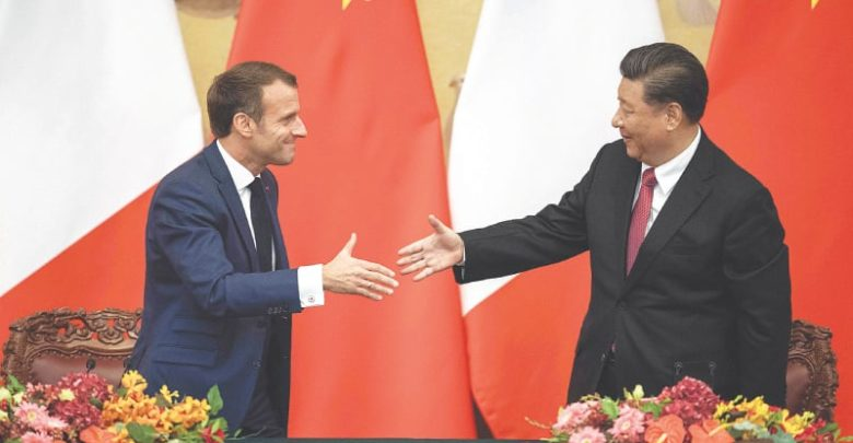 Photo of Xi, Macron unite on climate after US withdraws from Paris pact
