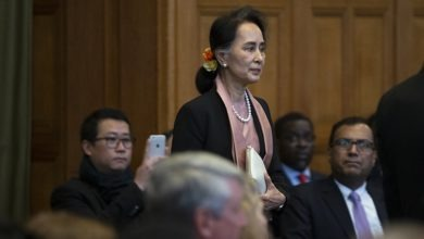 Photo of Suu Kyi in court as genocide case set out at ICJ against Myanmar