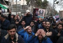 Photo of Tens of thousands rally in Iran capital against US 'crimes' after killing of top commander