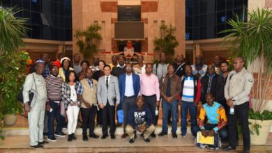 Photo of African youth Delegation Visit AOE