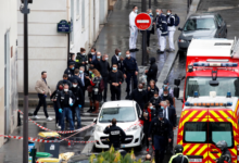 Photo of Four injured in knife attack near former Charlie Hebdo offices in Paris: PM