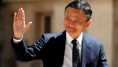 Photo of Alibaba's Jack Ma makes first live appearance in three months in online meet