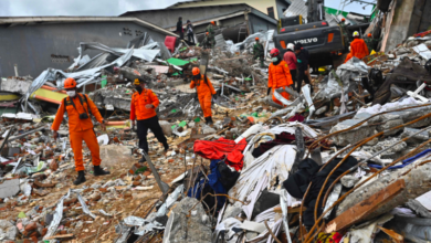 Photo of Hunt for buried survivors after Indonesia quake