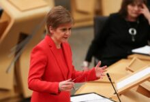 Photo of Scotland's leader vows to push for independence vote