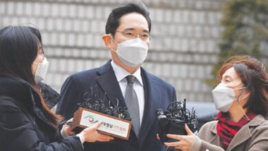 Photo of Samsung chief jailed over corruption scandal