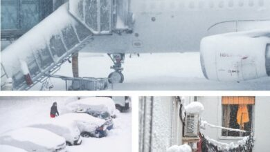 Photo of Snow blizzard kills four, brings much of Spain to a standstill