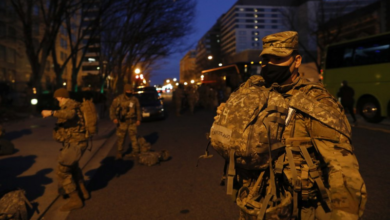 Photo of 12 US troops removed from capital duty ahead of inauguration amid worries of insider attack