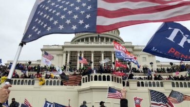 Photo of 'Disgraceful scenes': World leaders condemn 'assault on democracy' at US Capitol