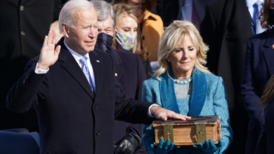 Photo of Joe Biden sworn in as 46th US president, takes helm of deeply divided nation