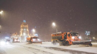 Photo of 'Snow apocalypse' descends on Moscow