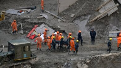Photo of First bodies recovered from India's flood disaster tunnel