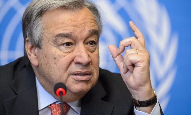 Photo of UN chief backs new blueprint to end 'suicidal' war on nature