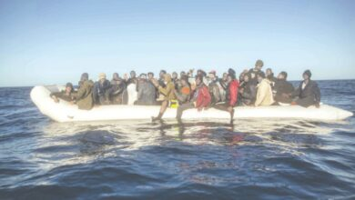 Photo of French boats rescue 36 migrants in English channel