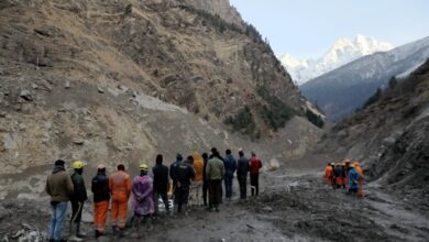 Photo of Anger as hopes fade for Indian workers after glacier disaster