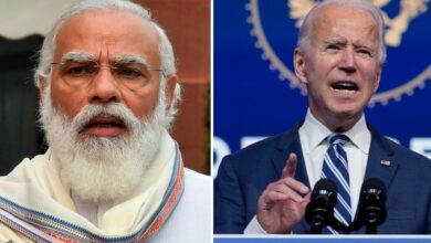 Photo of Biden calls India's Modi, seeks to strengthen regional security through 'Quad' grouping