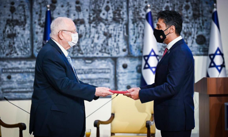 Photo of First UAE envoy to Israel takes up post