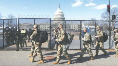 Photo of Security tight at US Capitol as police fear militia attack