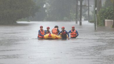 Photo of Evacuation ordered after dam overflows in Sydney