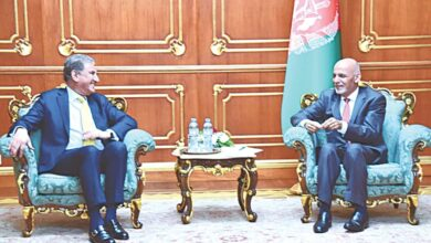 Photo of FM meets Ghani, voices concern over violence in Afghanistan