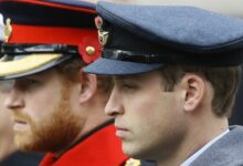 Photo of Princes William, Harry won't walk side-by-side at grandfather's funeral