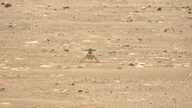 Photo of Nasa's Mars copter to make first flight on another planet today