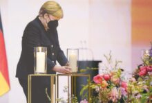 Photo of Germany mourns its 80,000 Covid dead at memorial