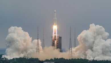 Photo of Chinese rocket debris lands in Indian Ocean, draws criticism from Nasa