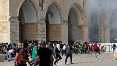 Photo of 153 Palestinians in hospital after violence erupts at Al Aqsa mosque as Israel marks Jerusalem Day