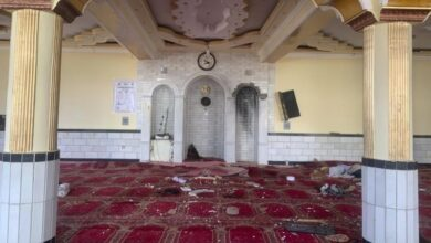 Photo of 12 killed in explosion at Kabul mosque during Friday prayers