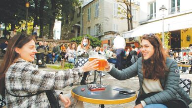 Photo of French return to cafes, museums after half-year Covid closure