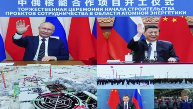 Photo of Putin, Xi launch work on nuclear plants in China