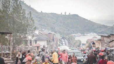 Photo of Thousands flee DR Congo town as fresh eruption of volcano feared
