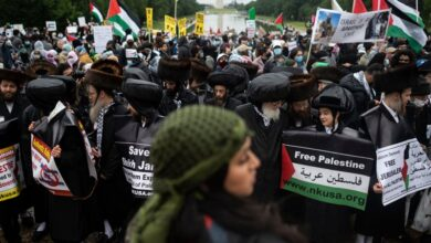 Photo of Pro-Palestine rally in Washington seeks end to US aid to Israel