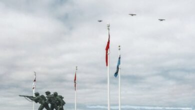 Photo of Normandy commemorates D-Day with small crowds