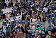 Photo of Thousands march in support of Muslim family killed in truck attack in Canada