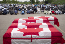 Photo of Canada pays final homage to Muslim family killed in truck attack