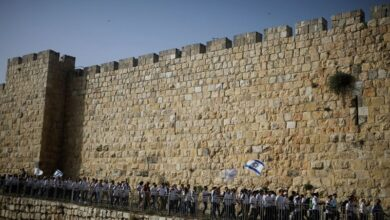 Photo of Israeli nationalists to march in East Jerusalem, Palestinians plan 'Day of Rage'