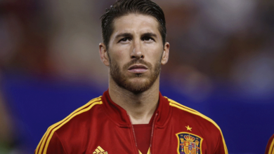 Photo of Emotional Ramos in tears as he bids farewell to Real Madrid after 16 years