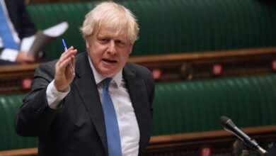 Photo of British Prime Minister Boris Johnson suffers embarrassing by-election defeat