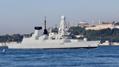 Photo of Russia fires warning shots to deter UK warship in Black Sea