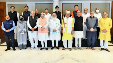 Photo of No major decision announced after first meeting between Modi, Kashmiri leaders since Aug 2019