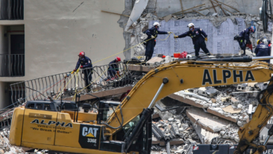 Photo of Five dead, 156 still missing in Florida building collapse as searchers race against time
