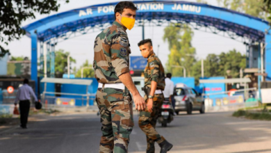 Photo of Two low-intensity explosions reported at Jammu Air Force Station in occupied Kashmir