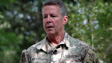 Photo of US commander warns Taliban to stop Afghan offensive or face air strikes